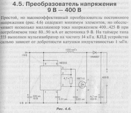 Жабова схема на 555 кто пробовал плиzzzzz напишите параметры катушек и выход напруги кто какой ферит использовал...